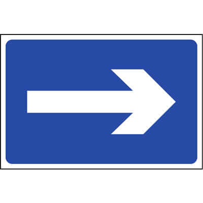 Directional Arrow Sign