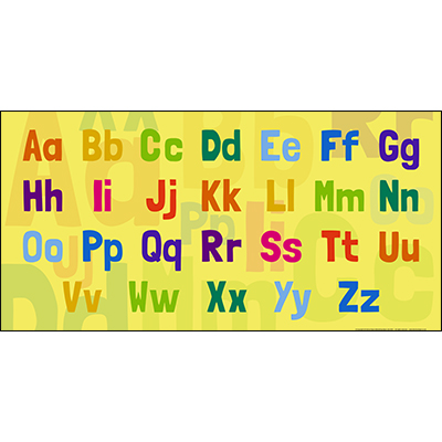 Fun Alphabet Sign Board